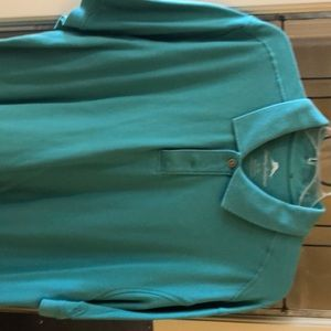 Tommy Bahama aqua aloha short-sleeve polo shirt